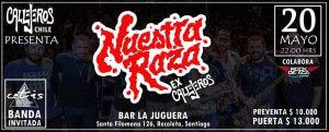Nuestra Raza (ex Callejeros) En Chile