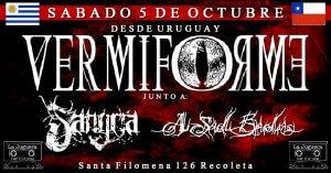 VERMIFORME / Sangría / A SAD BADA en CHILE